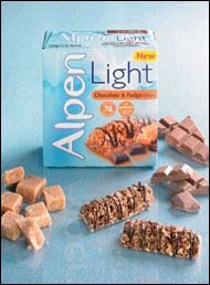 Alpen light bar range gets chocolate make over the grocery trader the weetabix food company strengthened its popular alpen light bar range with alpen light chocolate fudge this summer following the successful launch of aloadofball Image collections