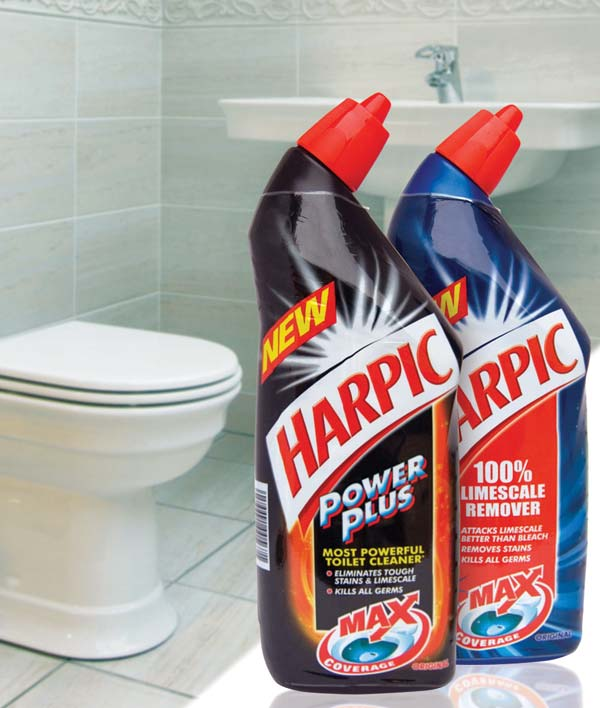 Max Coverage\' for NEW Harpic liquid | The Grocery Trader