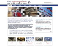 lorien-website-home-page