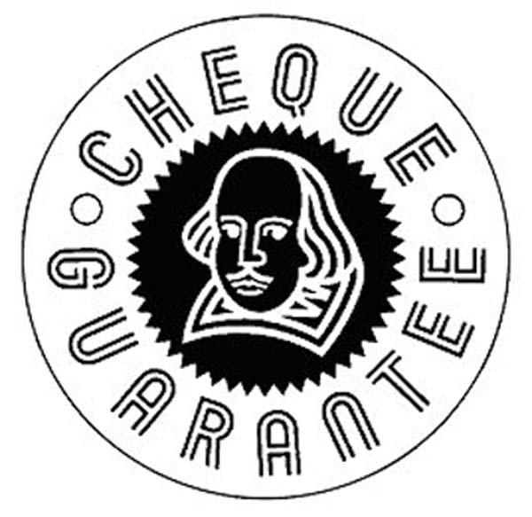 bank cheque  bank cheque guarantee cards