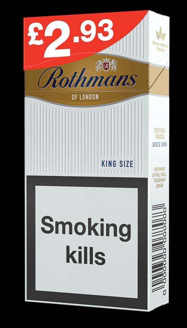 Rothmans Full Flavor Regular Cigarettes - Reviews for ...