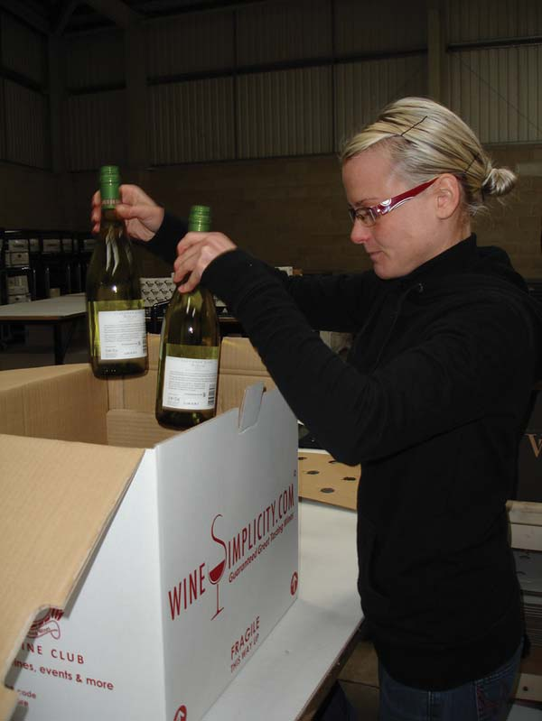 Bespoke packing and delivery service is 39 simply 39 the best for Best wine delivery service