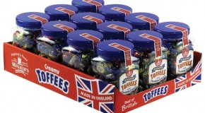 Assorted Toffees & Chocolate Éclairs 450g gifting jar