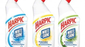 Harpic – Taking loo care to a whole new level with Harpic bleach white & shine