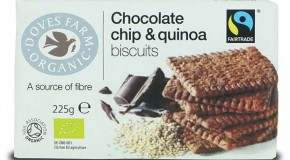 New biscuits and bars from Doves Farm
