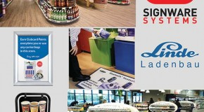 Signware and Linde your perfect shopfitting partners