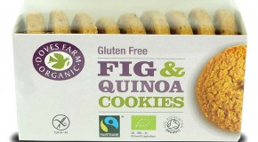 New gluten free cookies from Doves Farm