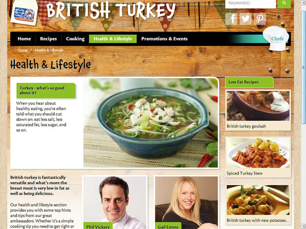 British Turkey website