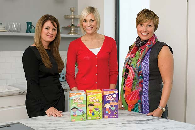 Jenni-Falconer-(centre)-with-Judith-Hough-(left)-and-Diane-Titterton-(right)-of-Dry-Like-Me[2]