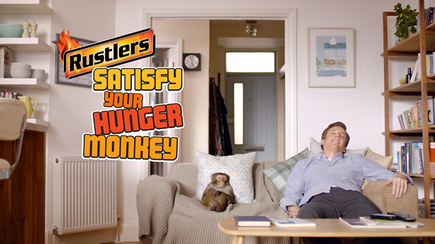rustlers satisfy your hunger monkey end frame