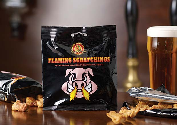 Flaming-Scratchings