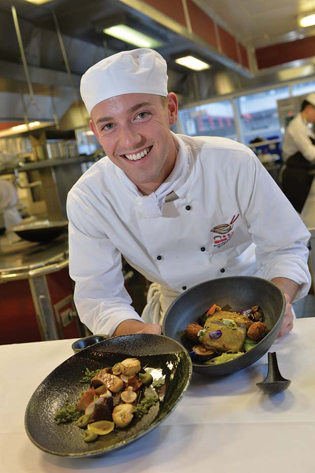 Robert-Hall-with-his-winning-dishes