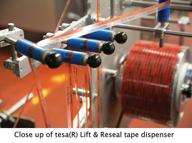 Close-up-of-tesa-Lift-&-Reseal-tape-dispenser