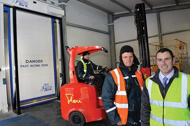 The UK market leading manufacturer of industrial High Speed doors fitted the door at the site to further enhance Oaklandu0027s drive for energy efficiencies and ...  sc 1 st  The Grocery Trader & Union Industries deliver high speed doors right on time | The ...