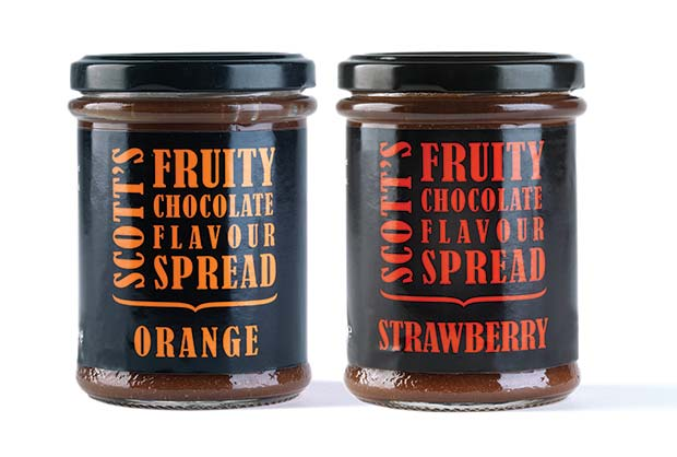 Scott's-Fruity-Chocolate-flavour-spreads
