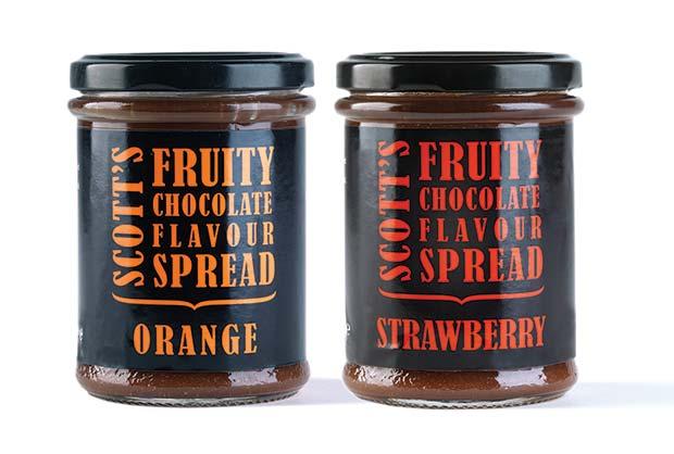 Scott's-Fruity-Chocolate-flavour-spreads