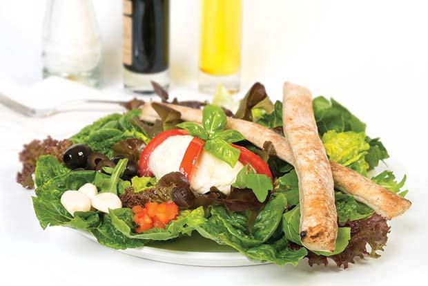Salat-WheatBreadsticks