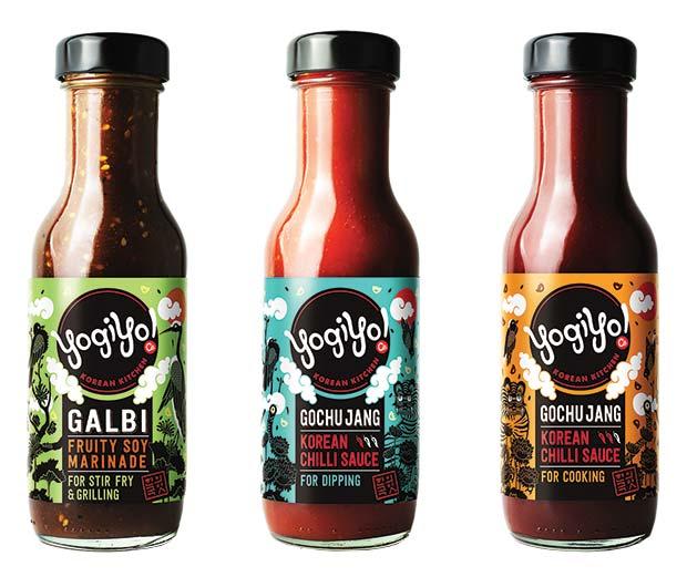 YogiYo-sauces