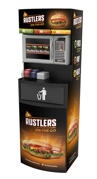 Rustlers Microwave Boosts Hot Food To Go Opportunity