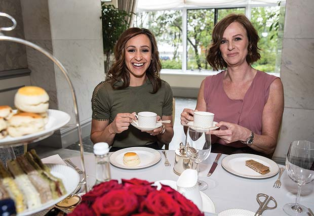 PG-Thank-You-Mum-Jessica-Ennis-Hill-Alison-Powell-Afternoon-Tea-at-The-Savoy-2