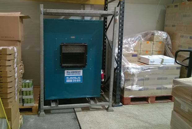 Andrews new year delivery saves DIY chiller store | The