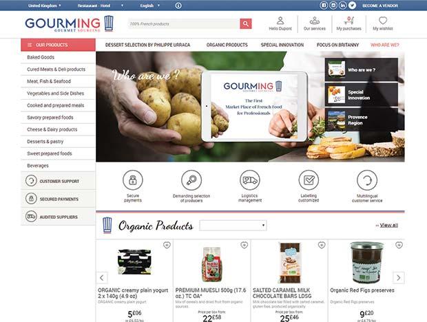 Online French Food Marketplace Uk