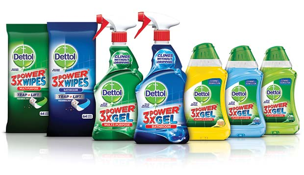 Introducing The Dettol 3x Power Range New Gel Formula