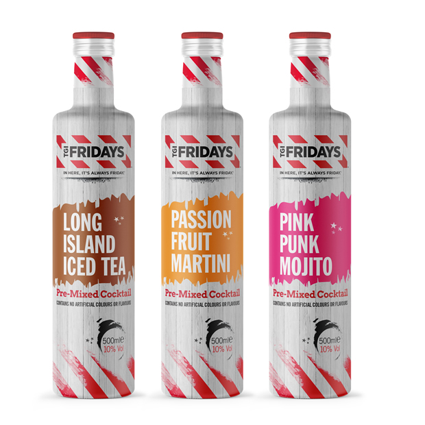 TGI Fridays™ Brand Launches Ready-to-drink Cocktails