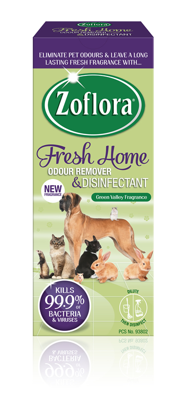Introducing Zoflora S Latest Fresh Home Fragrance Green