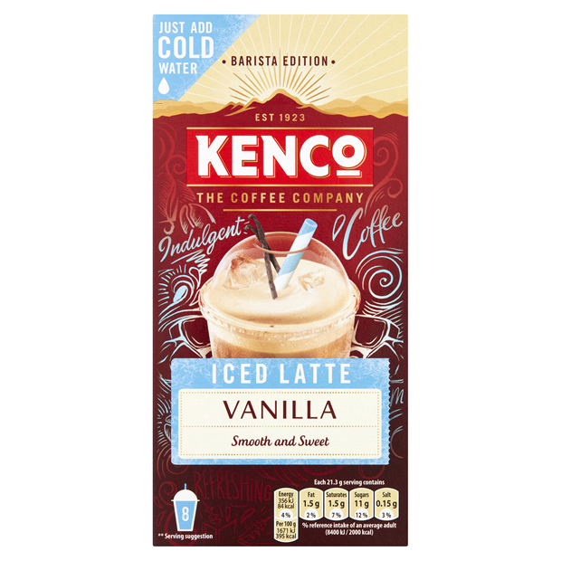 Kenco Celebrates Iced Latte Success With New Media