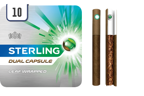 Jti Launches Sterling Dual Capsule Leaf Wrapped Cigarillos Grocery Trader