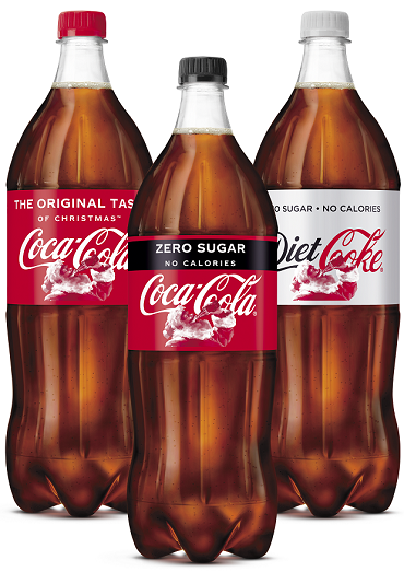 Coca Cola Christmas Bottle 2021